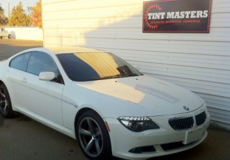 BMW 650i Tinted by Tint Masters